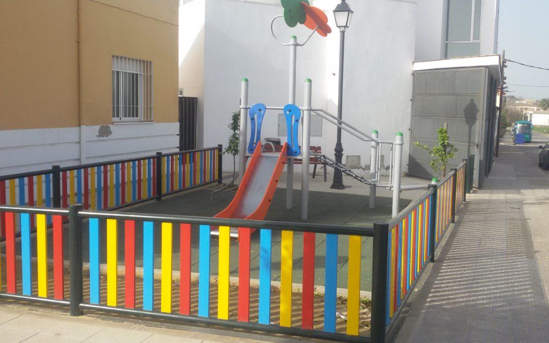 Realización de parques infantiles la Guijarrosa