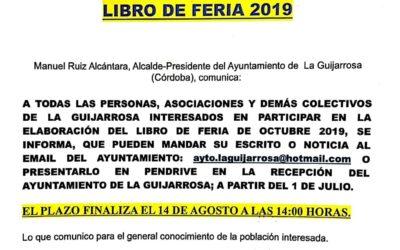 Libro de Feria 2019