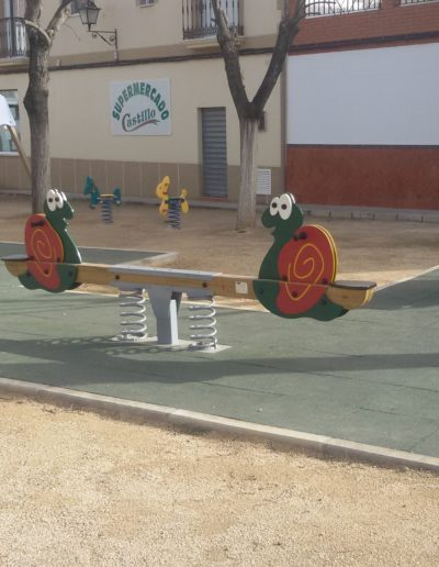 Nuevos parques infantiles