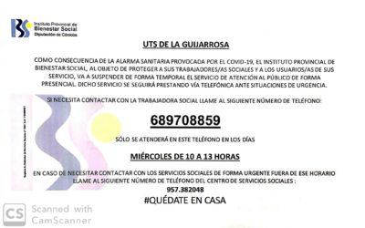 UTS La Guijarrosa (Asistenta Social)