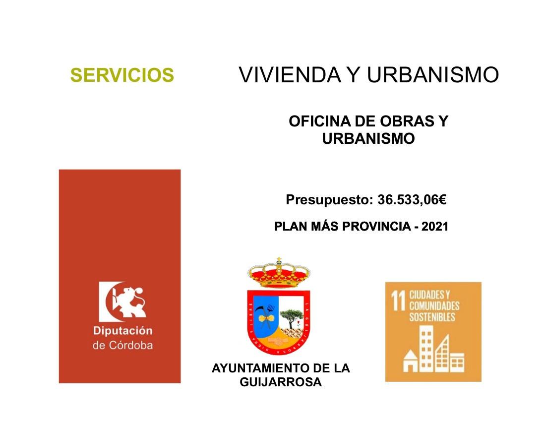 VIVIENDA Y URBANISMO OFICINA DE OBRAS Y URBANISMO