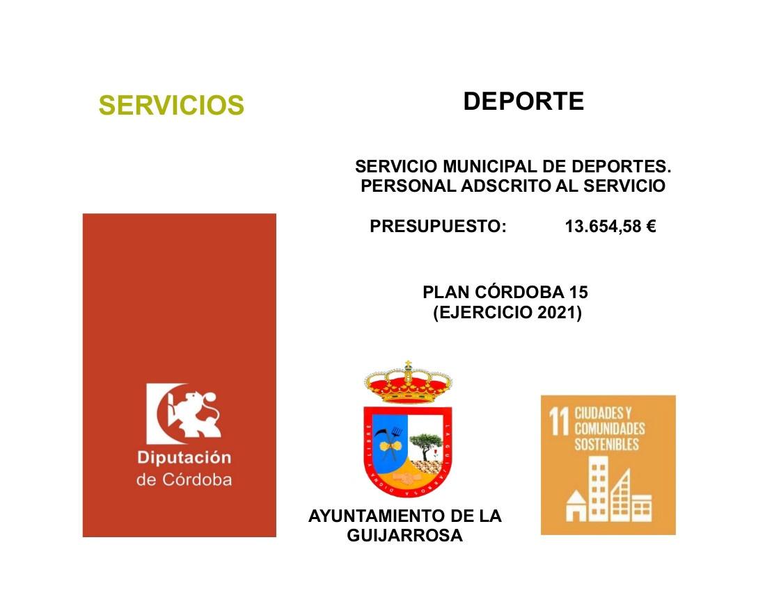 CARTEL PLAN CORDOBA 15-2021 PERSONAL DEPORTES